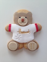 Nila Holden Harrods Christmas 2016 Bear Biscuit