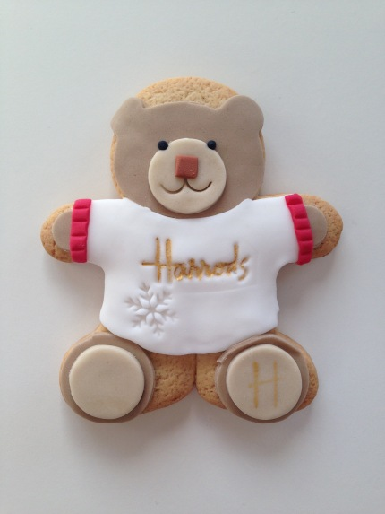 Nila Holden Harrods Christmas 2016 Bear Biscuit