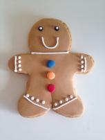 Harrods Christmas 2016 Gingerbread Man Biscuit