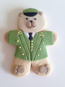 Harrods Christmas 2016 Green Man Biscuit