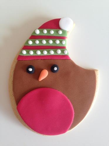 Harrods Christmas 2016 Robin Biscuit