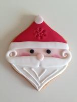 Harrods Christmas 2016 Santa Biscuit