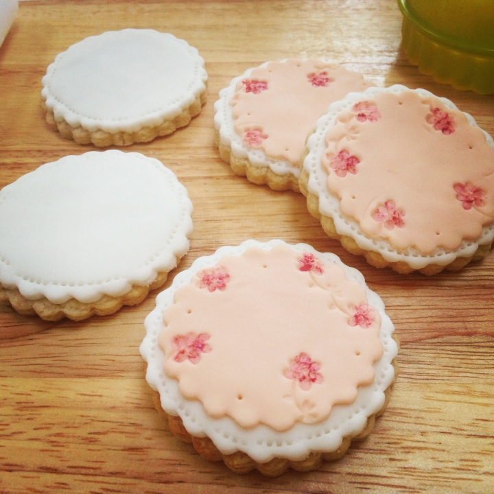 nila holden floral painted biscuits