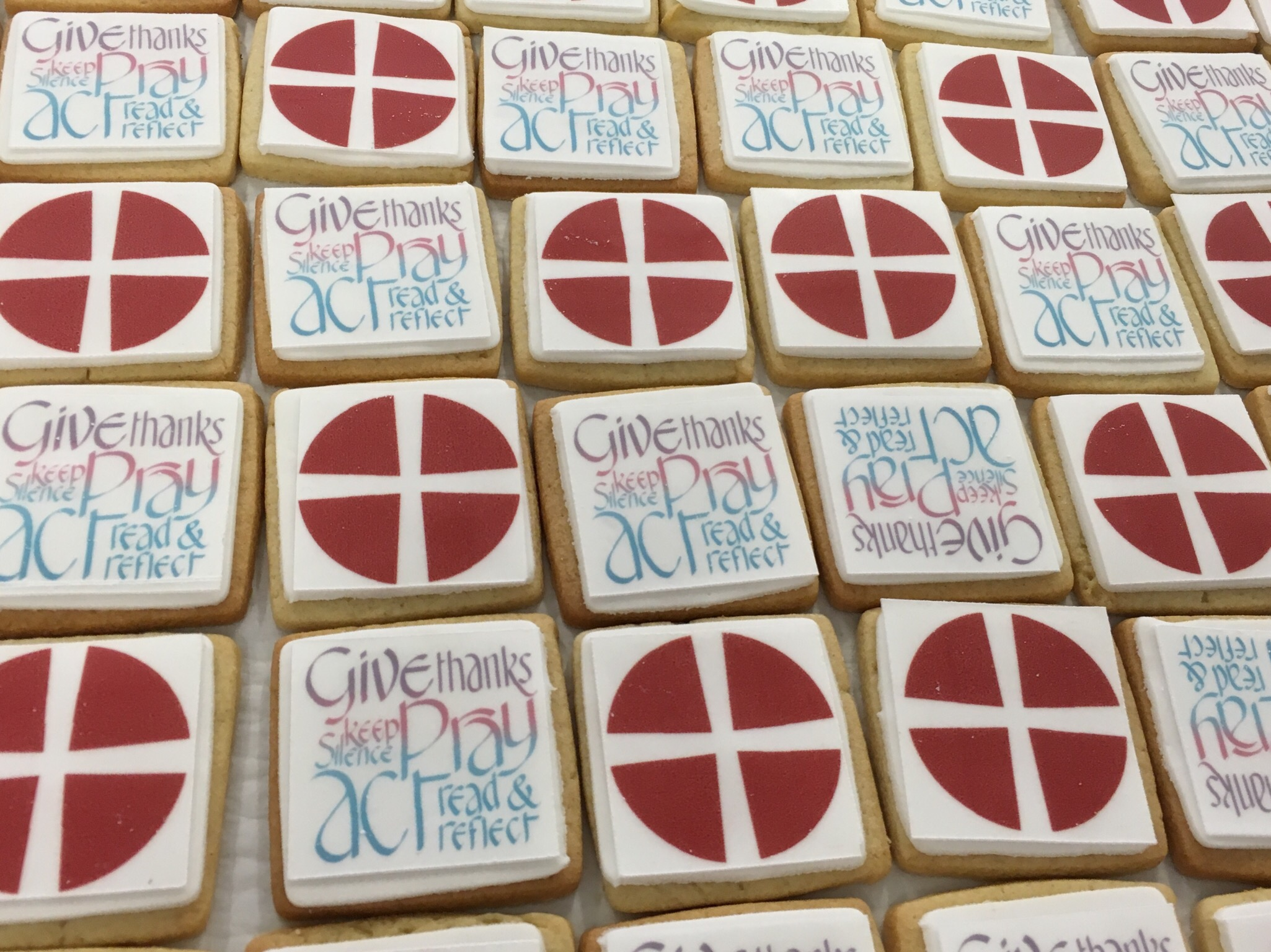 branded biscuits for the methodist church by nila holden