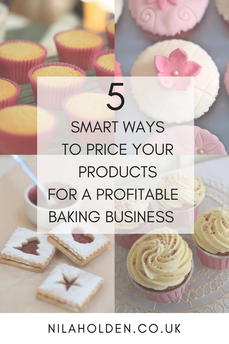 5 SMART WAYS TO PRICE YOUR PRODUCTS FOR A PROFITABLE BAKING BUSINESS_ ART OF PRICING PINTEREST