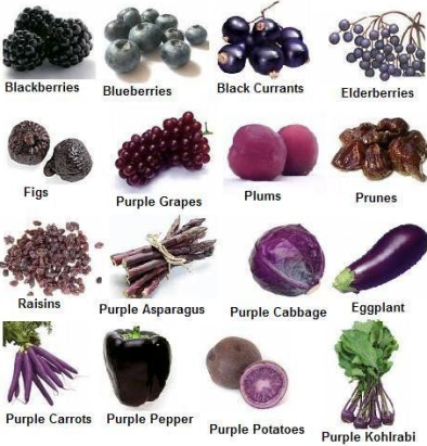 Ultraviolet Pantone Colour of the Year 2018 Marketing ideas for your food or creative business vegetable